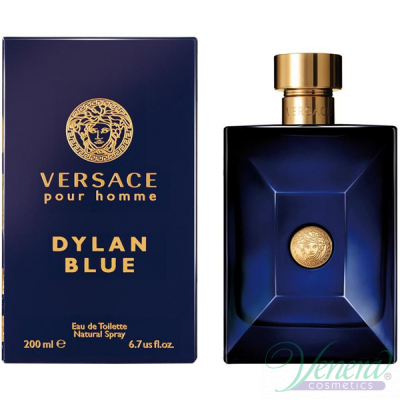 Versace Pour Homme Dylan Blue EDT 200ml за Мъже