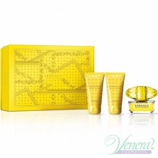 Versace Yellow Diamond Комплект (EDT 50ml + BL 50ml + SG 50ml) за Жени