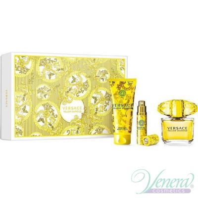 Versace Yellow Diamond Комплект (EDT 90ml + EDT 10ml + BL 100ml) за Жени За Жени