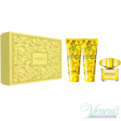 Versace Yellow Diamond Комплект (EDT 90ml + BL 150ml + SG 150ml) за Жени