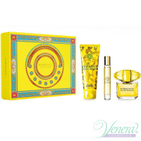 Versace Yellow Diamond Комплект (EDT 90ml + EDT 10ml + BL 150ml) за Жени За Жени
