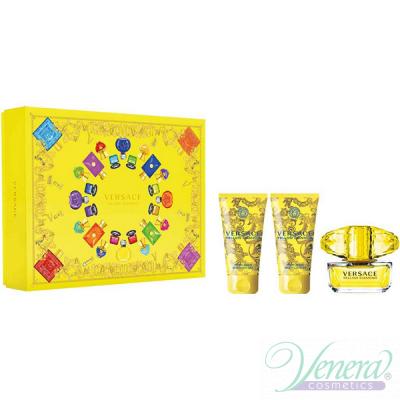 Versace Yellow Diamond Комплект (EDT 50ml + BL 50ml + SG 50ml) за Жени За Жени