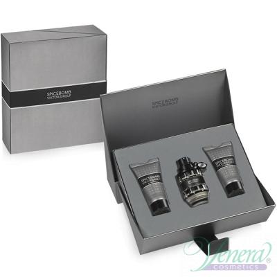 Viktor & Rolf Spicebomb Комплект (EDT 50ml + AS Balm 50ml + Shaving Cream 50ml) за Мъже Мъжки Комплекти