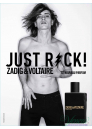 Zadig & Voltaire Just Rock! for Him Комплект (EDT 50ml + SG 100ml) за Мъже