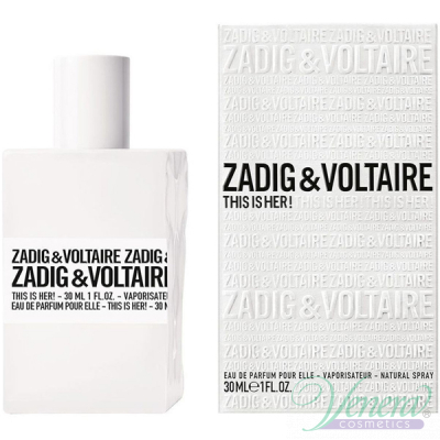 Zadig & Voltaire This is Her EDP 30ml за Жени Дамски Парфюми