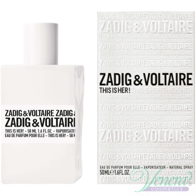 Zadig & Voltaire This is Her EDP 50ml за Жени Дамски Парфюми