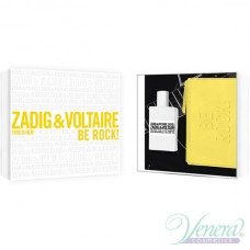 Zadig & Voltaire This is Her Комплект (EDP 50ml + Yellow Pouch) Be Rock! за Жени
