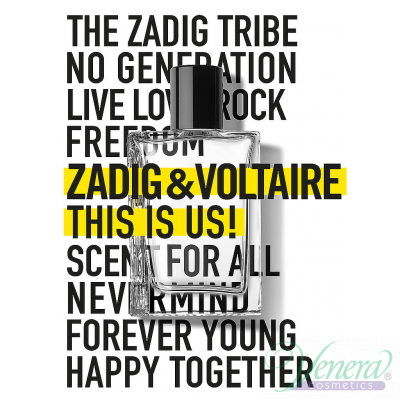 Zadig & Voltaire This is Us! EDT 100ml за М...