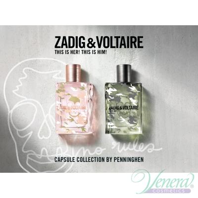 Zadig & Voltaire for Him No Rules EDT 100ml за Мъже БЕЗ ОПАКОВКА Мъжки Парфюми без опаковка