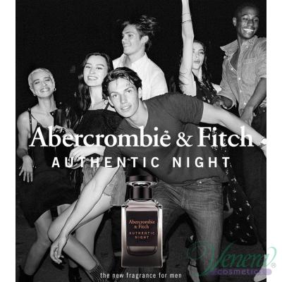 Abercrombie & Fitch Authentic Night Man EDT 100ml за Мъже БЕЗ ОПАКОВКА Мъжки Парфюми без опаковка