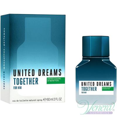 Benetton United Dreams Together for Him EDT 60ml за Мъже Мъжки Парфюми