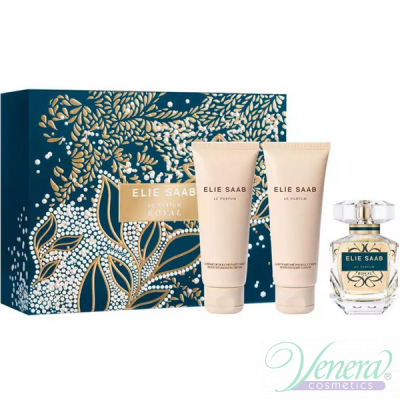 Elie Saab Le Parfum Royal Комплект (EDP 50ml + BL 75ml + SG 75ml) за Жени Дамски Комплекти