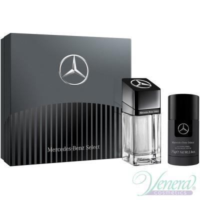 Mercedes-Benz Select Комплект (EDT 100ml + Deo Stick 75ml) за Мъже