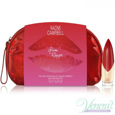 Naomi Campbell Glam Rouge Комплект (EDT 15ml + ...