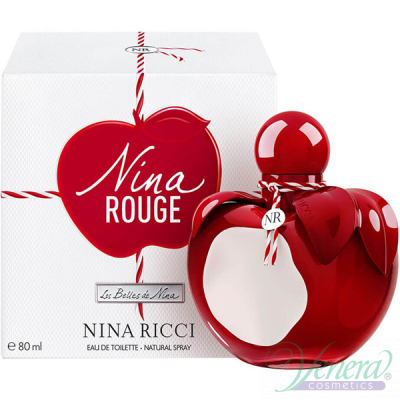 Nina Ricci Nina Rouge EDT 80ml за Жени Дамски Парфюми
