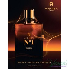Aigner No1 OUD EDP 100ml за Мъже