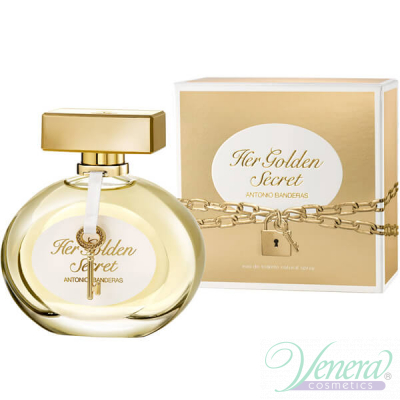 Antonio Banderas Her Golden Secret EDT 50ml за Жени Дамски Парфюми