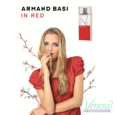 Armand Basi In Red EDT 100ml за Жени БЕЗ ОПАКОВКА