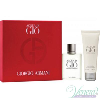 Armani Acqua Di Gio Комплект (EDT 30ml + SG 75ml) за Мъже