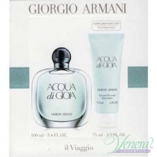 Armani Acqua Di Gioia Комплект (EDP 100ml + Body Lotion 75ml) за Жени