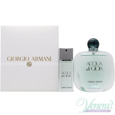 Armani Acqua Di Gioia Комплект (EDP 100ml + EDT 20ml) за Жени Дамски комплекти