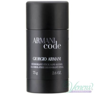 Armani Code Deo Stick 75ml за Mъже Мъжки Продукти за лице и тяло