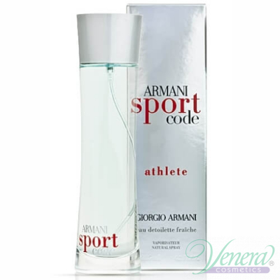 Armani Code Sport Athlete EDT 75ml за Mъже Мъжки Парфюми