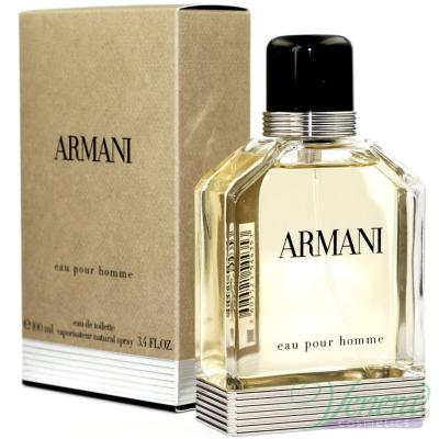 Armani Eau Pour Homme EDT 100ml за Мъже Мъжки Парфюми