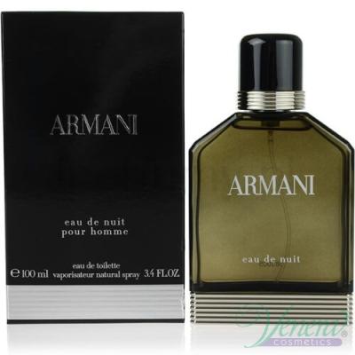 Armani Eau De Nuit EDT 100ml за Мъже Мъжки Парфюми