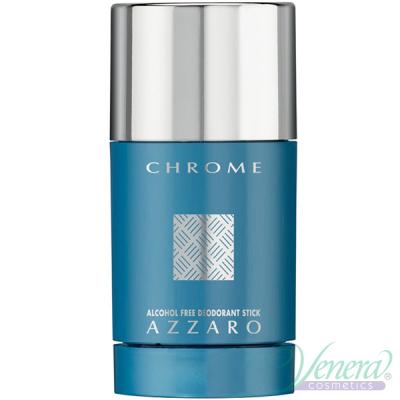 Azzaro Chrome Deo Stick 75ml за Мъже Мъжки продукти за лице и тяло