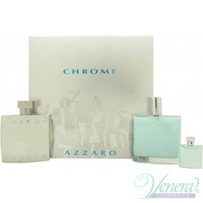 Azzaro Chrome Комплект (EDT 100ml + AS Bal...