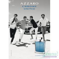 Azzaro Chrome United EDT 50ml за Мъже Мъжки Парфюми