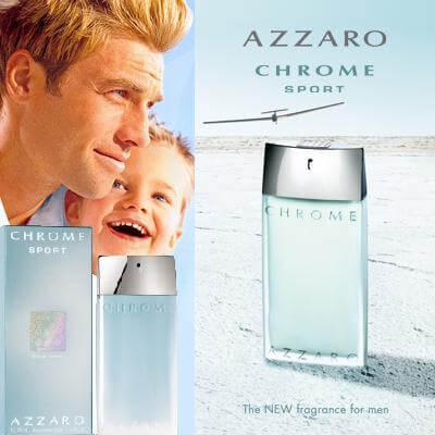Azzaro Chrome Sport EDT 50ml за Мъже Мъжки Парфюми