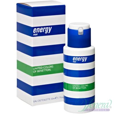 Benetton Energy EDT 100ml за Мъже Мъжки Парфюми