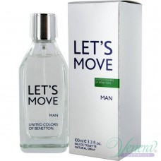 Benetton Let's Move EDT 40ml за Мъже