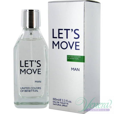 Benetton Let's Move EDT 40ml за Мъже Мъжки Парфюми