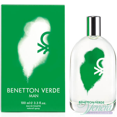 Benetton Verde Man EDT 100ml за Мъже