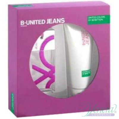Benetton B.United Jeans Комплект (EDT 100ml + SG 200ml) за Жени Комплекти
