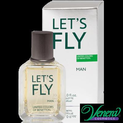 Benetton Let's Fly EDT 30ml за Мъже Мъжки Парфюми