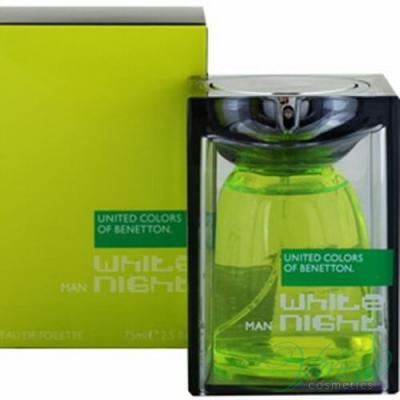 Benetton White Night EDT 75ml за Мъже Мъжки Парфюми