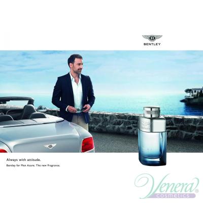 Bentley Bentley for Men Azure Set (EDT 100ml + EDT 7ml) for Men Men's Gift Set