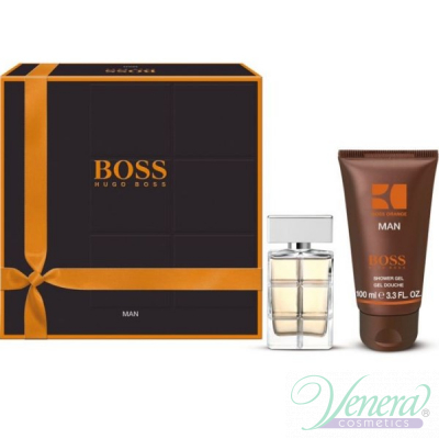 Boss Orange Man Комплект (EDT 60ml + SG 100ml) за Мъже