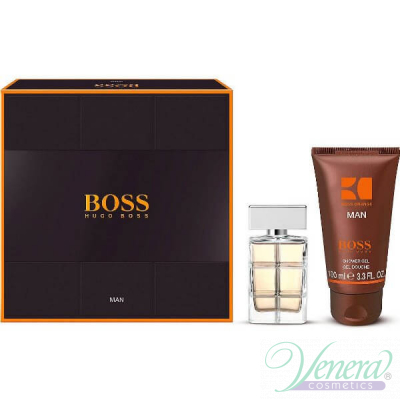 Boss Orange Man Комплект (EDT 40ml + SG 100ml) за Мъже