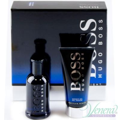 Boss Bottled Night Комплект (EDT 50ml + SG 50ml) за Мъже За Мъже