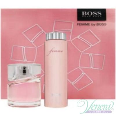 Boss Femme Комплект (EDP 75ml +Body Lotion 200ml) за Жени За Жени