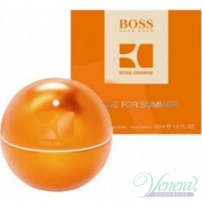 Boss In Motion Orange Made For Summer EDT 40ml за Мъже