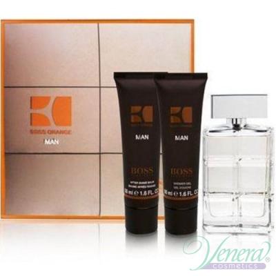 Boss Orange Man Комплект (EDT 60ml + AS Balm 75ml + SG 75ml) за Мъже За Мъже