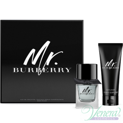 Burberry Mr. Burberry Set (EDT 50ml + SG 7...