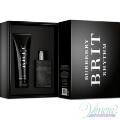 Burberry Brit Rhythm Комплект (EDT 50ml + Shower Gel 100ml) за Мъже За Мъже