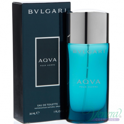 Bvlgari Aqva Pour Homme EDT 30ml за Мъже Мъжки Парфюми